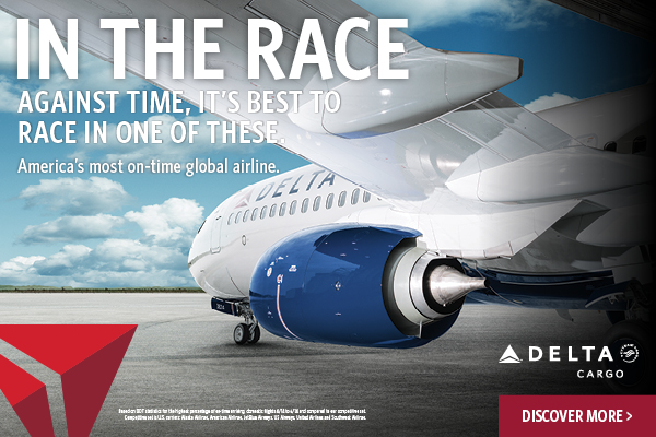 Delta Cargo In The Race Ad