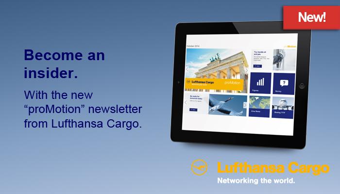 Lufthansa Cargo ad