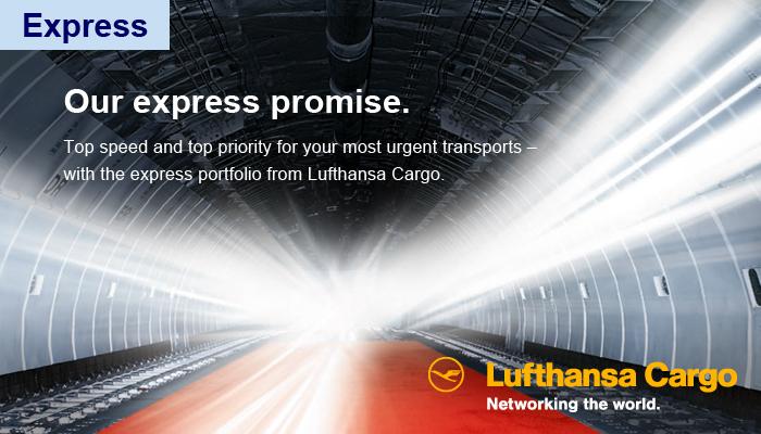 Lufthansa Cargo Express Ad
