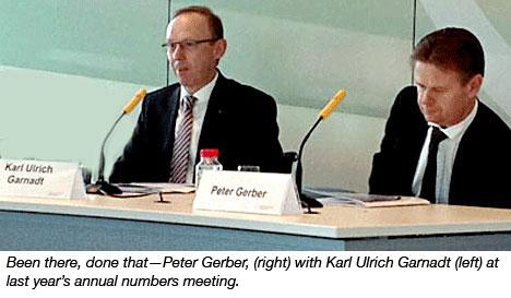 Karl Ulrich Garnadt and Peter Gerber