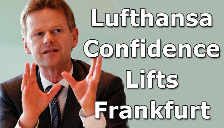 Lufthansa Confidence Lifts