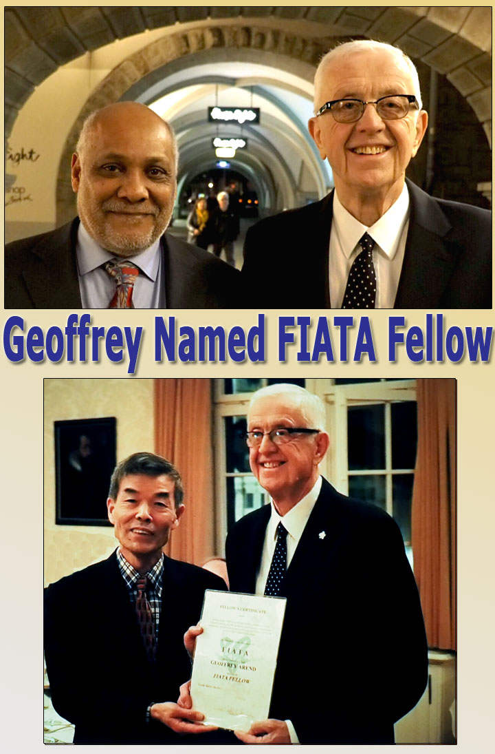 Geoffrey, Issa Baluch and Chairman Zhao