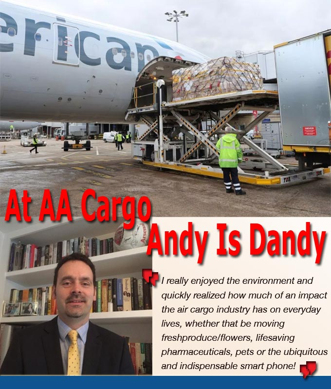 American Airlines Andy Is Dandy