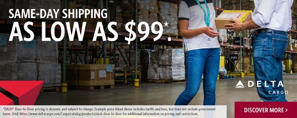 Delta Same Day Shipping Ad