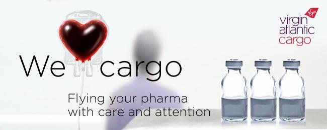 Virgin Cargo ad