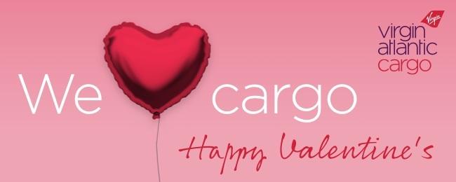 Virgin Cargo Valentine's Ad