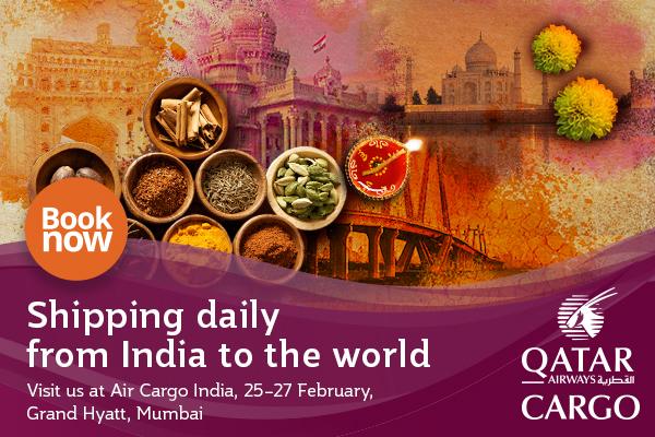 Qatar Cargo Air Cargo India ad