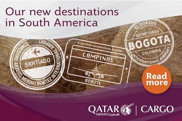 Qatar Cargo South America Ad