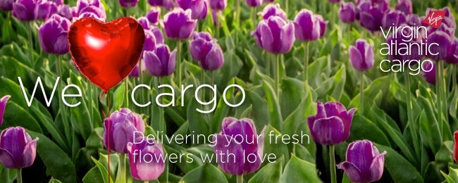 Virgin Cargo Flowers Ad
